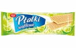 Wafers with lime filling