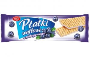 Blueberry wafers